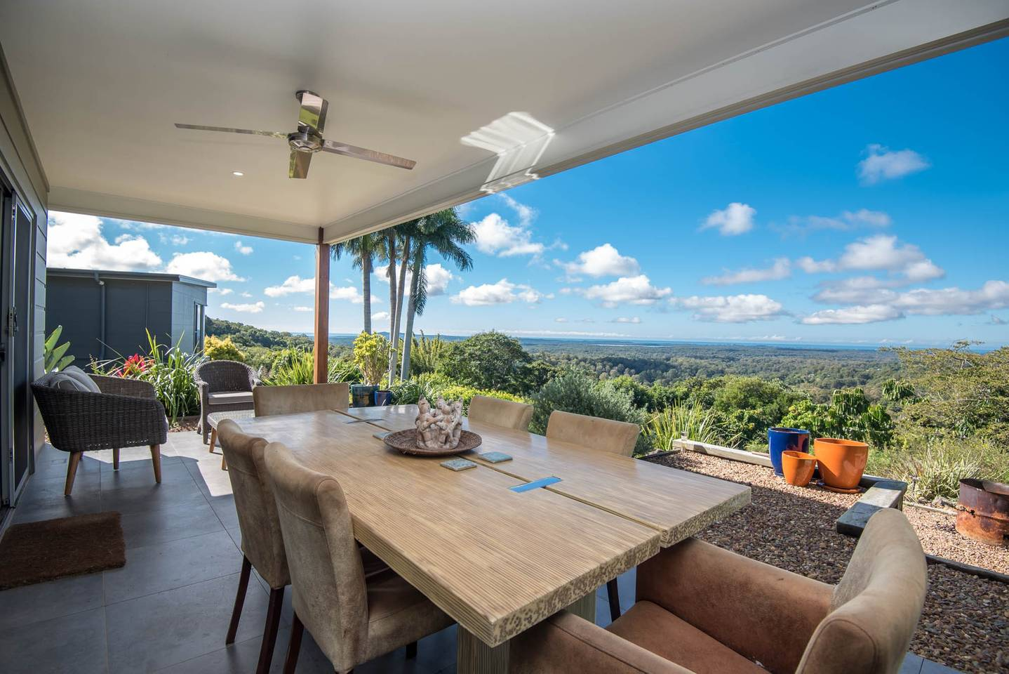 Noosa accommodation with amazing coastal views