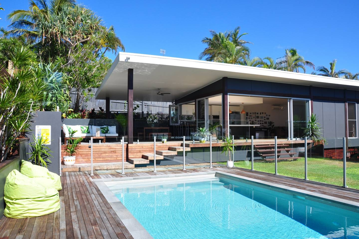 A large family friendly holiday home in Noosa